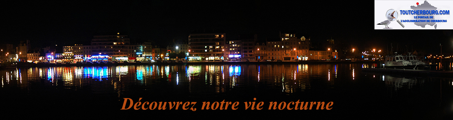 quai Caligny nuit Christophe BOCHER Nord Ouest Photos Cherbourg