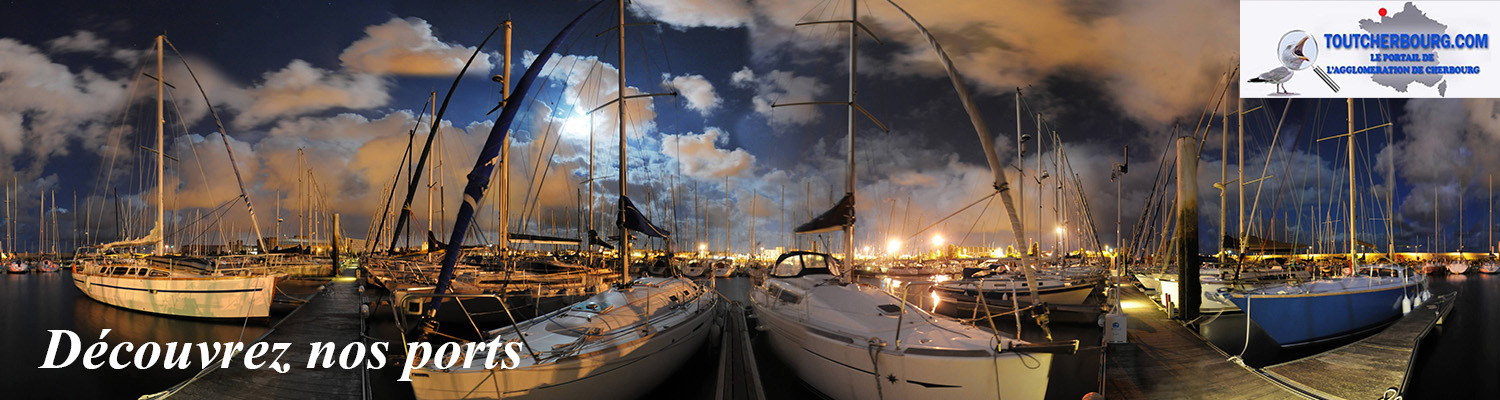 Port Chantereyne nuit Christophe BOCHER Nord Ouest Photos Cherbourg